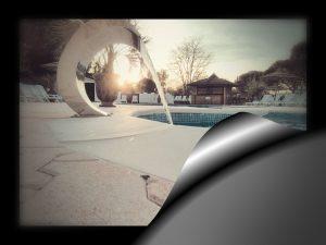 piscine a anduze dans les cevenne