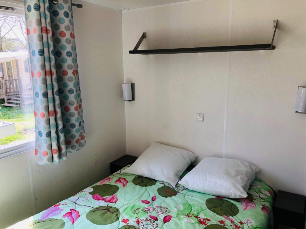 La chambre d'un loft